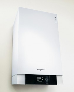 Centrala termica in condensatie Viessmann Vitodens 200-W 35 kW - pentru instalatii solare fara boiler - Centrale termica in condensatie - VIESSMANN