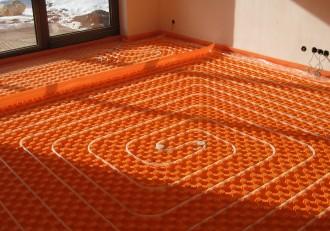 Pachet complet de incalzire in pardoseala - IVAR 60 m² - Incalzire in pardoseala cu agent termic - IVAR