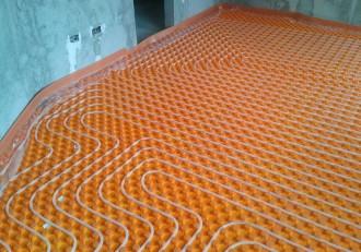 Pachet complet de incalzire in pardoseala - IVAR 120 m² - Incalzire in pardoseala cu agent termic - IVAR