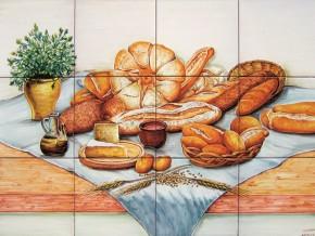 Decor paine specialitati paine si branza - Faianta pentru bucatarie