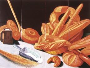 Decor specialitati paine - Faianta pentru bucatarie