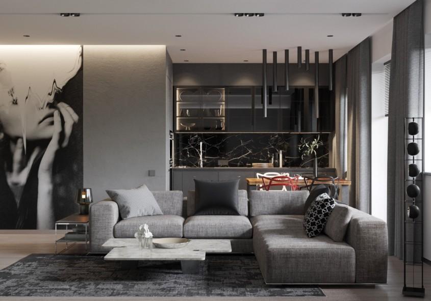 Culoarea gri în casă îți poate aduce mai multă liniște - Culoarea gri în casă îți