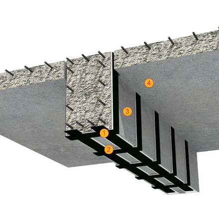 SikaCarboDur - detaliu de aplicare lamele de carbon - Detalii de aplicare SikaCarboDur si SikaWrap