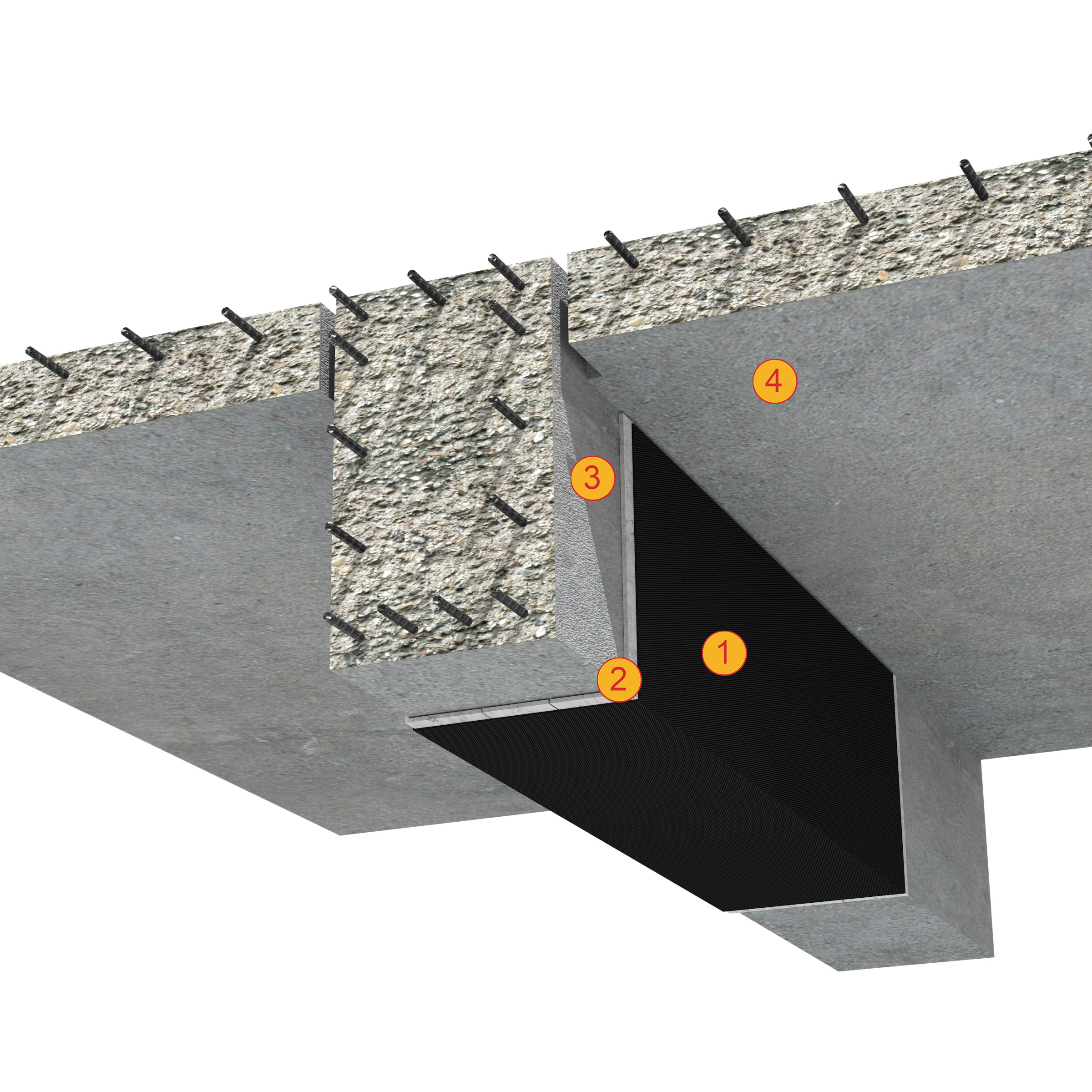 SikaWrap - detaliu de aplicare tesatura din fibre de carbon - Detalii de aplicare SikaCarboDur si