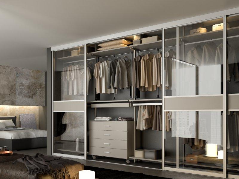 Sisteme dressing - Amenajarea confortabilă a dormitorului sau cum poți să creezi un spațiu relaxant în