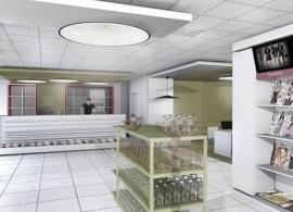 Amenajare magazin de presa si articole culturale intr-un spital - Bucuresti - Amenajare magazin de presa