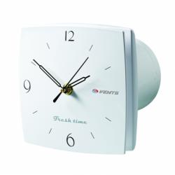 Ventilator diam 100 mm cu timer, senzor umiditate + hidrostat cu ceas - Ventilatie casnica decorative