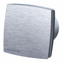 Ventilator diam 100mm cu timer si inrerupator fir cu fata vopsita gri aluminizat - Ventilatie casnica decorative