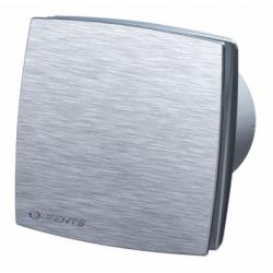 Ventilator axial de perete fi 100mm cu fata aluminiu si timer - Ventilatie casnica decorative