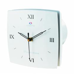 Ventilator diam 100 mm + hidrostat cu ceas cifre romane - Ventilatie casnica decorative