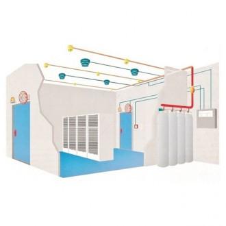 Instalatie completa de stingere incendii - Prezentare instalatie completa