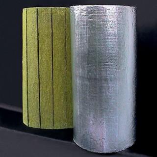 Saltele lamelare vata bazaltica cu aluminiu Larock 32 ALS - Saltele Lamelare vata bazaltica si accesorii montare