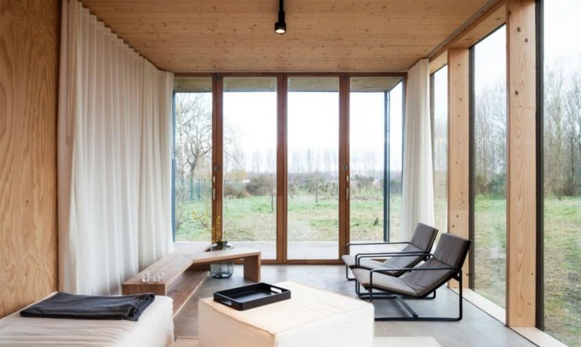 Simplitatea esteticii arhitecturale nipone aleasa pentru o casa din Belgia - Simplitatea esteticii arhitecturale nipone aleasa