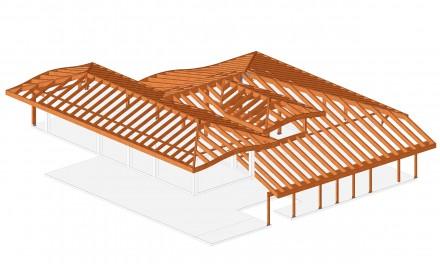 Proiect Casa - Proiectare structuri de lemn