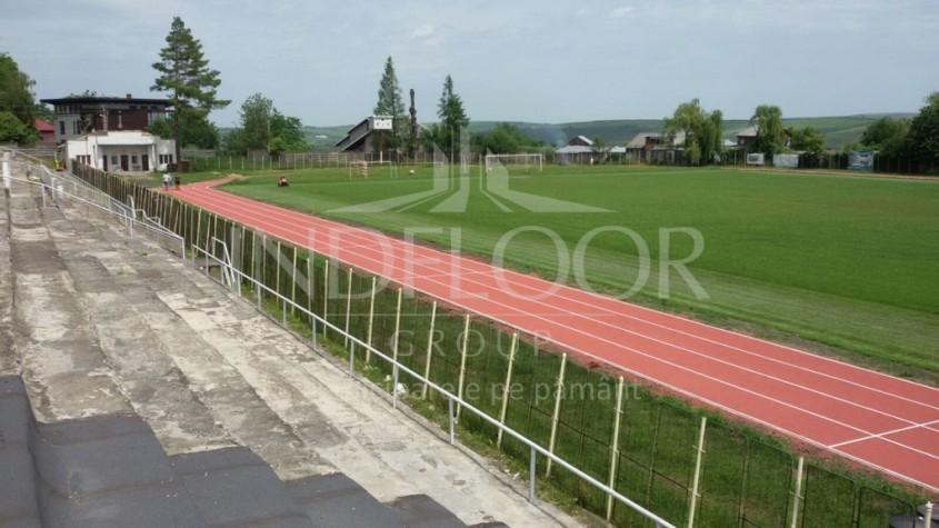 Un nou proiect de succes - cea mai noua si moderna pista de atletism din Moldova