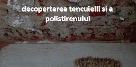 Eliminarea igrasiei la o casa construita in anii '50 in Ramnicu Valcea - Eliminarea igrasiei la