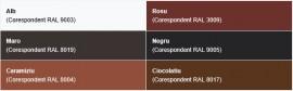 Gama culori Quadra - Novatik Quadra