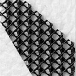Georetea cu structura reticulara spatiala si geotextile - Geocompozite