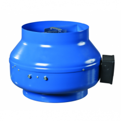 Ventilator centrifugal diam 125 - Ventilatie industriala ventilatoare in linie