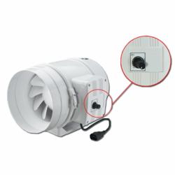Ventilator axial de tubulatura diam 200mm, cu 2 viteze - Ventilatie industriala ventilatoare in linie