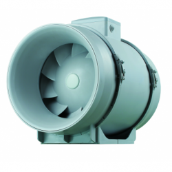 Ventilator axial de tubulatura diam 250mm, cu 2 viteze, cu timer - Ventilatie industriala ventilatoare in linie