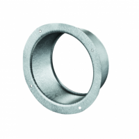 Flansa metalica fi 125mm - Accesorii ventilatie tubulatura tabla zincata si piese metalice