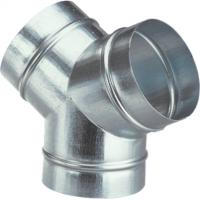 Y metalic 2x135gr + 90gr, diam 125mm - Accesorii ventilatie tubulatura tabla zincata si piese metalice