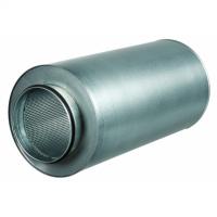 Atenuator zgomot diam 125mm, lungime 900mm - Accesorii ventilatie tubulatura tabla zincata si piese metalice