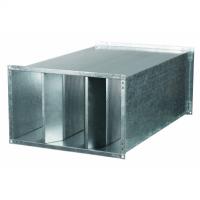Atenuator de zgomot 500x300mm - Accesorii ventilatie tubulatura tabla zincata si piese metalice