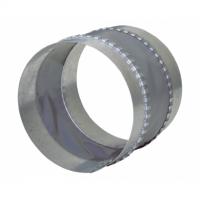 Conector antivibratie diam 100mm - Accesorii ventilatie tubulatura tabla zincata si piese metalice