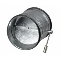 Clapeta antiretur cu reglaj manual diam 150mm - Accesorii ventilatie tubulatura tabla zincata si piese metalice