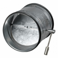 Clapeta antiretur cu reglaj manual diam 315mm - Accesorii ventilatie tubulatura tabla zincata si piese metalice