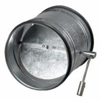 Clapeta antiretur cu reglaj manual diam 250mm - Accesorii ventilatie tubulatura tabla zincata si piese metalice