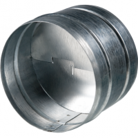 Valva antiretur diam 100mm - Accesorii ventilatie tubulatura tabla zincata si piese metalice