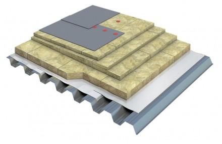 Placi din vata minerala bazaltica TECHNOROOF N - Vata minerala pentru acoperisuri tip terasa