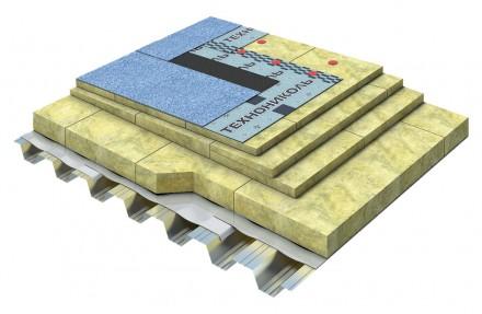 Placi din vata minerala bazaltica TECHNOROOF - Vata minerala pentru acoperisuri tip terasa