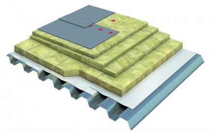 Placi din vata minerala bazaltica TECHNOROOF V  - Vata minerala pentru acoperisuri tip terasa