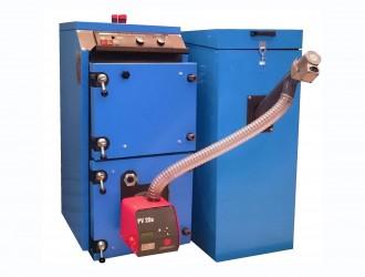 Cazan cu arzator automat pe pellet PelletStar - Cazane pe combustibil solid, peleti