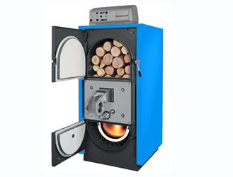 Cazan cu functionare pe lemne prin gazeificare PYRO - Cazane pe combustibil solid, peleti