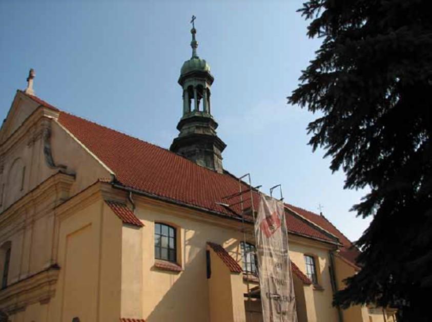VEDERE ASUPRA FATADEI SUDICE - Consolidarea structurala a bisericii Sf. Nicolae din Cracovia, Polonia