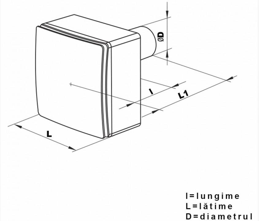 Ventilator centrifugal tip VN - 1 80 - Ventilator centrifugal tip VN - 1 80