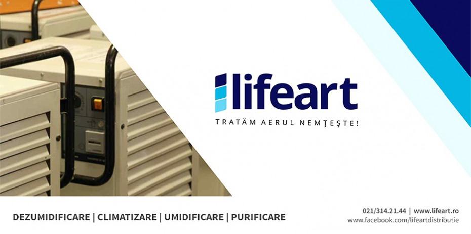 pagina de prezentare LifeArt + logo + detalii - LIFE ART