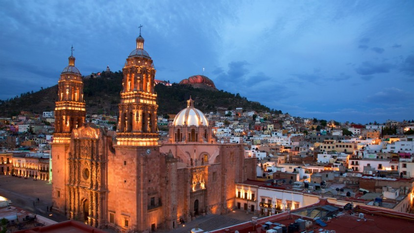 Catedrala din Zacatecas, Mexic - Lectia de arhitectura - emblemele stilului baroc