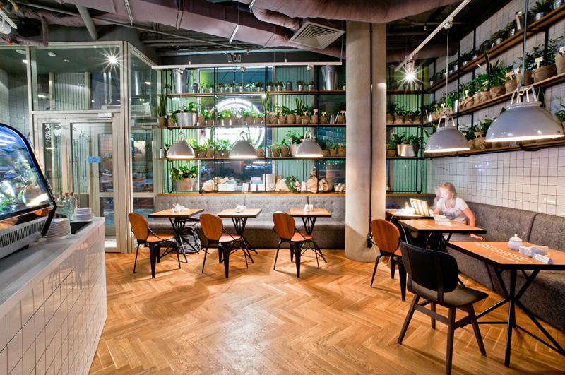 Coffee Cake  - 14 cafenele care-ti dovedesc frumusetea design-ului creativ