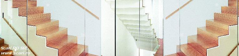 Scari interioare - Model Paris scari metalice cu treapta si contratreapta - Scari interioare - Model