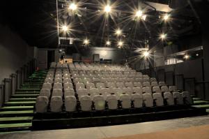 Sala Mica - Desfumare cu motoare SIMON RWA la Teatrul National