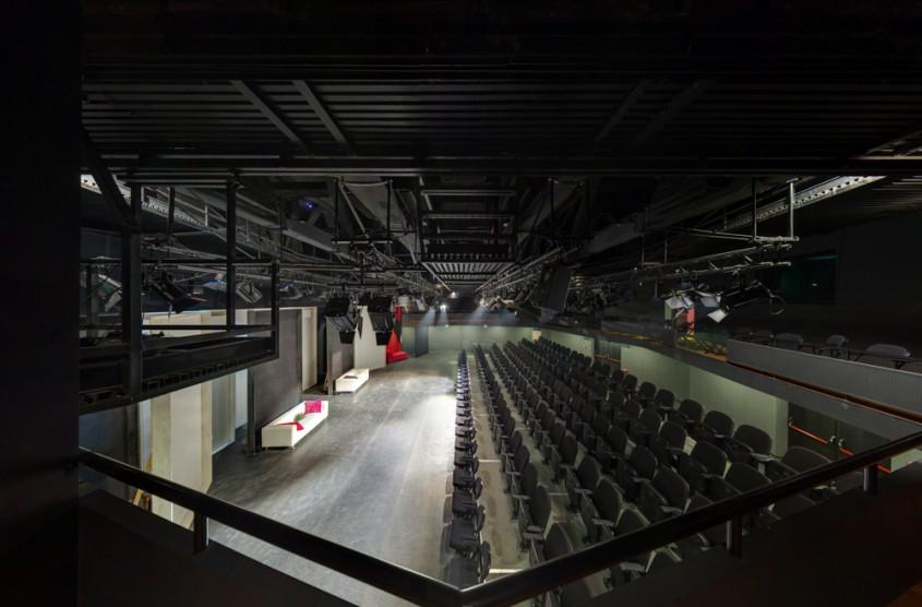 Sala Atelier - Desfumare cu motoare SIMON RWA la Teatrul National