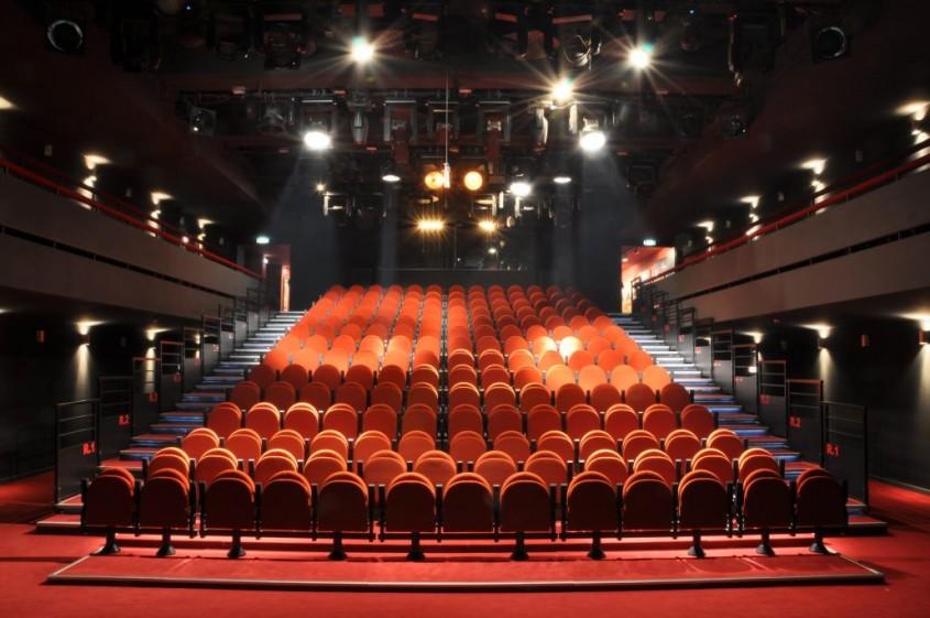 Sala Pictura - Desfumare cu motoare SIMON RWA la Teatrul National