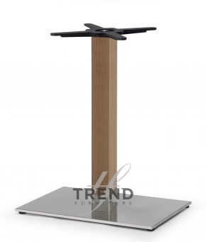 Picior de masa Natural Tiffany dreptunghiular - Componente pentru mobilierul de bar, fast-food