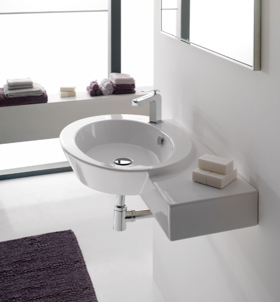 Chiuveta de perete - Cum alegem chiuveta potrivita pentru baie?